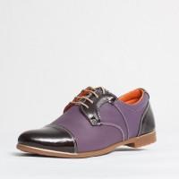 Pantofi dama casual Culoare: mov de la Vicoveanu incaltaminte piele cod:600