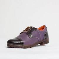 Pantofi dama casual Culoare: mov de la Vicoveanu incaltaminte piele cod:610
