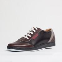 Pantof sport piele naturala Culoare: negru si maro de la Vicoveanu incaltaminte piele cod:630