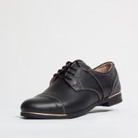 Pantofi dama casual 620 Culoare: negru de la Vicoveanu incaltaminte piele cod:620