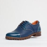 Pantofi dama casual Culoare: indigo de la Vicoveanu incaltaminte piele cod:650