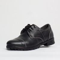 Pantofi dama casual Culoare: negru de la Vicoveanu incaltaminte piele cod:640