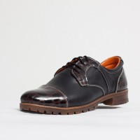 Pantofi dama casual Culoare: negru de la Vicoveanu incaltaminte piele cod:670