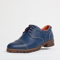 Pantofi dama casual Culoare: indigo de la Vicoveanu incaltaminte piele cod:690