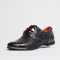 Pantofi dama casual Culoare: negru de la Vicoveanu incaltaminte piele cod:700