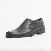Pantofi elegant piele naturala culoare: negru de la Vicoveanu incaltaminte piele cod:850