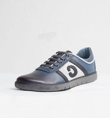 Pantofi Sport piele naturala culoare: bleau de la Vicoveanu incaltaminte piele cod:950