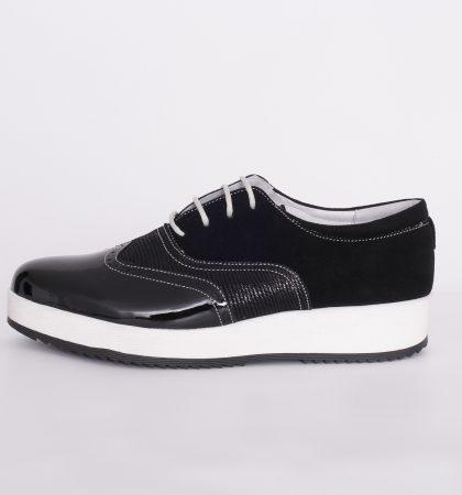 1680 pantofi casual din piele culoare negru, pantofi din piele sibiu (4)
