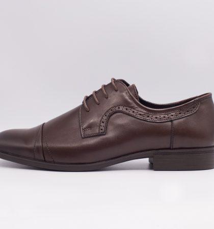 pantofi eleganti din piele, cod pantofi eleganti 2460 (2)