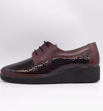 2950 Pantofi din piele naturala mata si lucioasa(2)