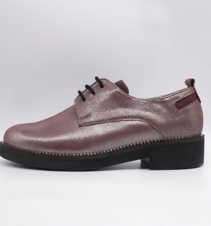 pantofi casual din piele sidefata, cod produs 2990 (2)