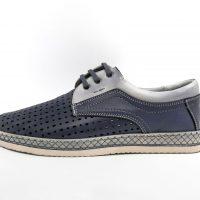 3840 Pantofi mocasini perforati cu sireturi (3)