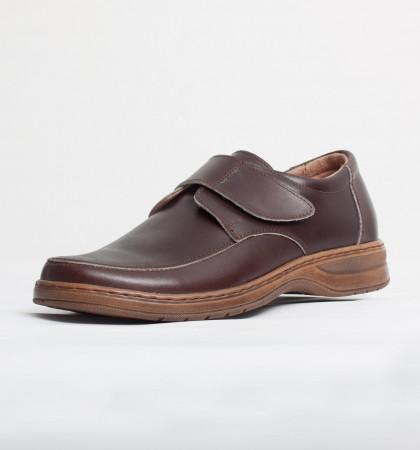Pantofi elegant piele naturala culoare: maro de la Vicoveanu incaltaminte piele cod:840